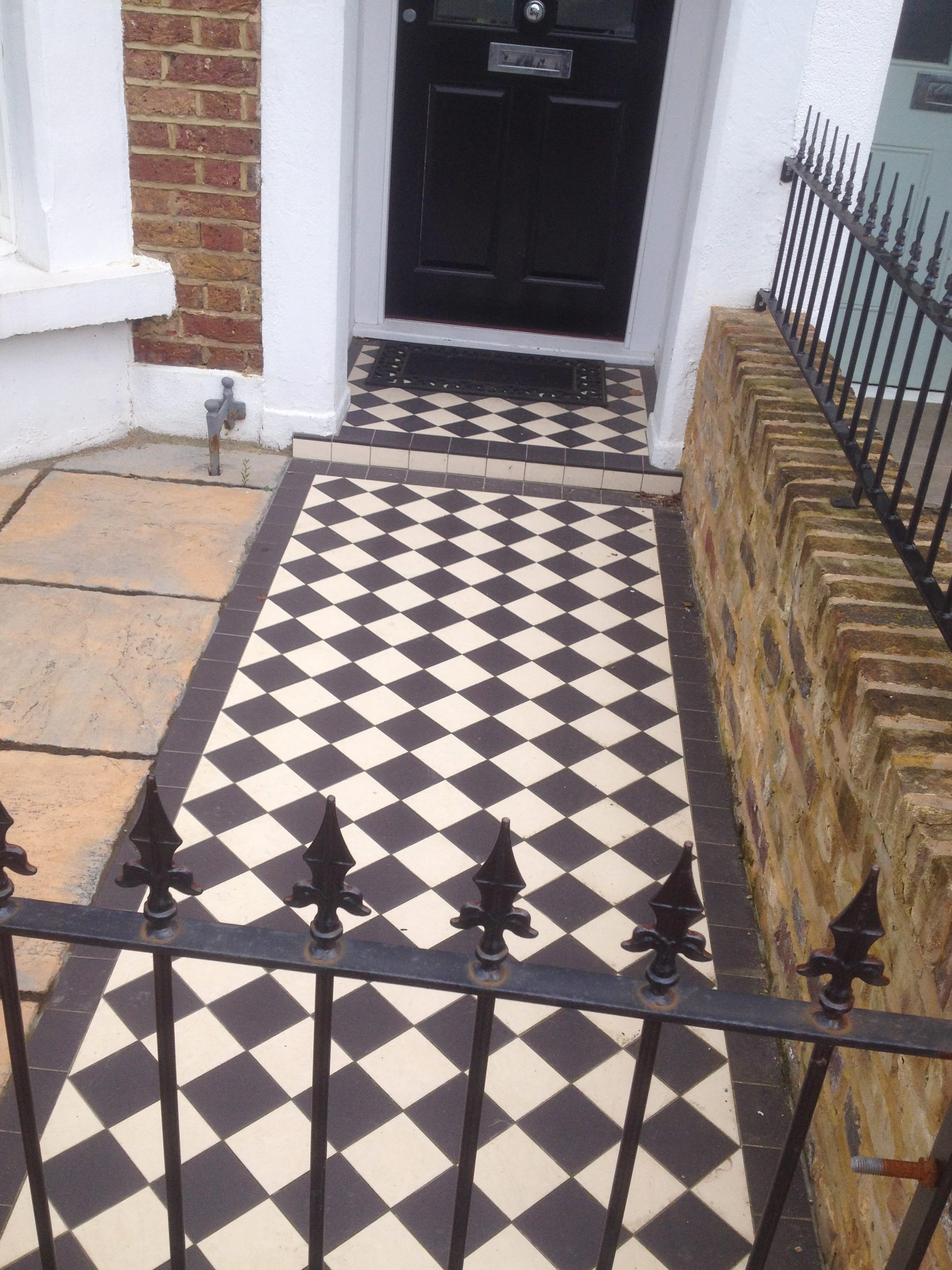 Victorian geometric floor tiles outside inspiration in south reproduction floor tiles victorian exterior floor tiles dailygadgetfo Image collections