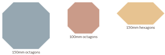 Olde English Octagons & Hexagons
