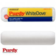 "2 x White Dove 1 1/2"" Core Roller Sleeve For Interior Walls"