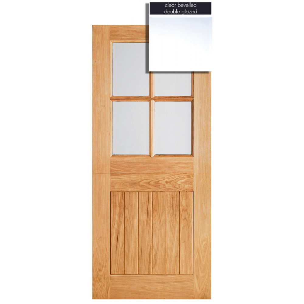 Lpd Adoorable Oak Cottage Stable 4 Light Double Glazed