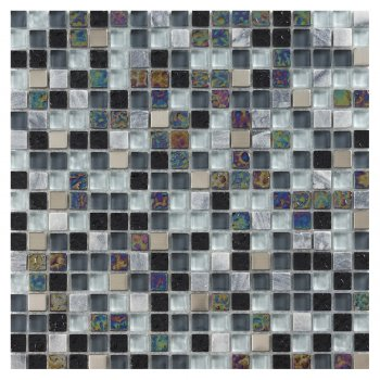Marshalls Tile & Stone Artemis Glass Mosiac Stone Tiles