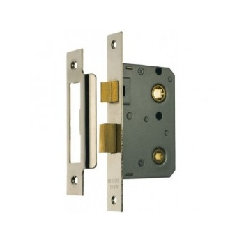 From the Anvil Bathroom Mortice Lock - Nickel Plated