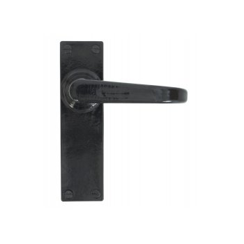From the Anvil Black Deluxe Lever Lock and Latch Handle Sets