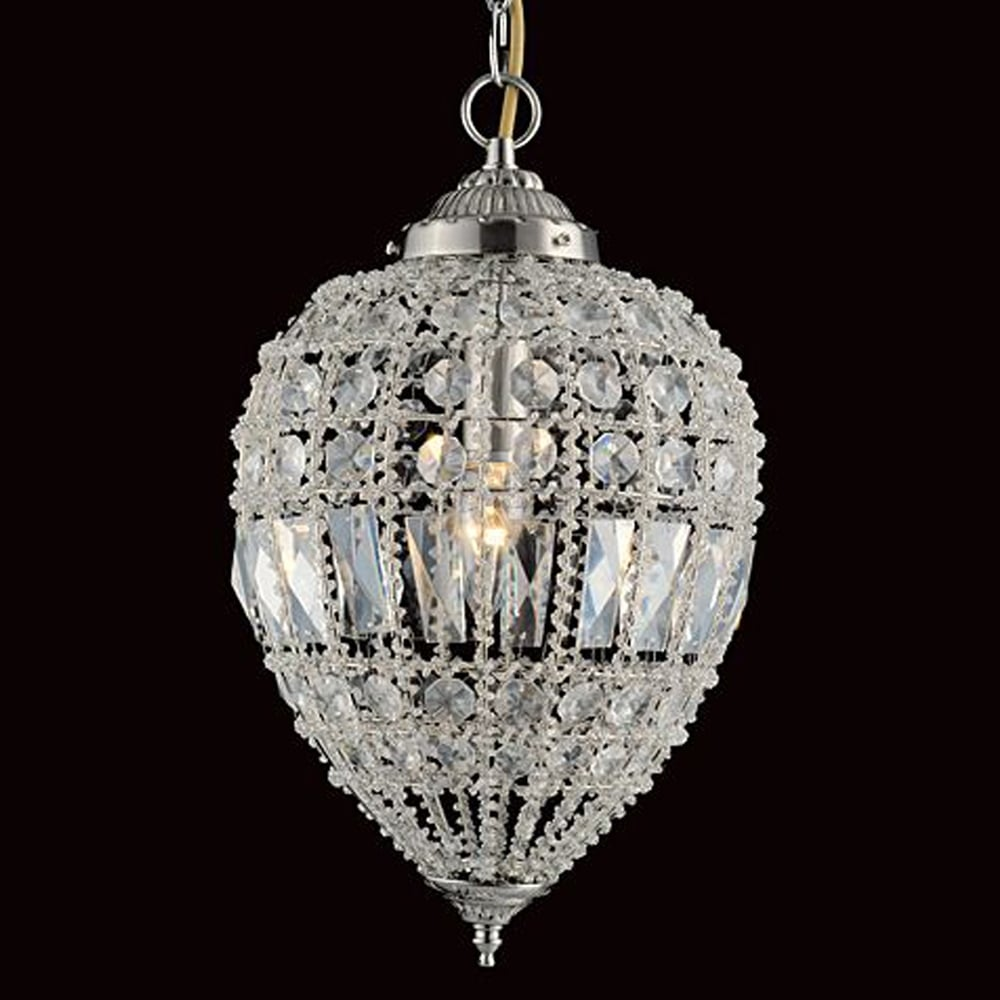Impex Lighting Bombay Beaded Pendant Light Lighting From
