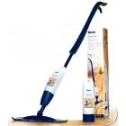 Spray Mop, Cleaning Pad and Refillable Wood Floor Cleaner Cartridge