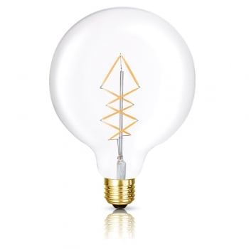 Bright Goods The George Maxi Globe Lattice LED Filament Dimmable Light Bulb
