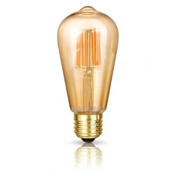 Bright Goods The Jane Classic Pear (Carbonised) LED Filament Dimmable Light Bulb