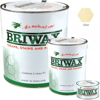 Briwax Original Clear Wood Wax Polish/Restorer