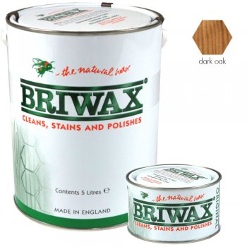 Briwax Original Dark Oak Wood Wax Polish/Restorer
