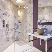 Amethyst Marble Honed Tile