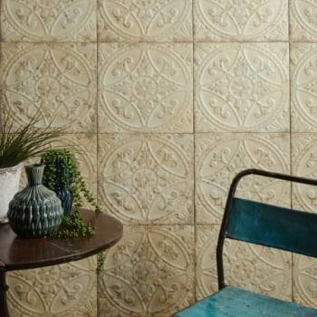 Ca'Pietra Brooklyn Embossed Ceramic Painted Tile