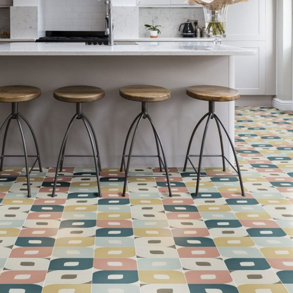 Capietra cement encaustic eye pattern tile flooring from period view all capietra view all flooring dailygadgetfo Choice Image