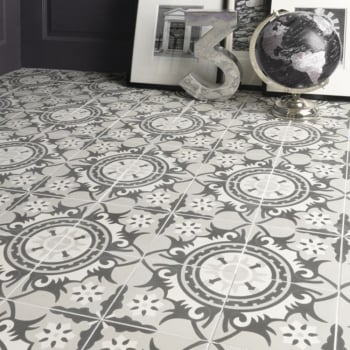Ca'Pietra Cement Encaustic Marrakech Pattern Tile