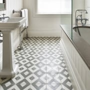 Cement Encaustic Modern Harlequin Pattern Tile
