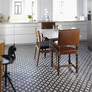 Ca'Pietra Cement Encaustic Orla Pattern Tile