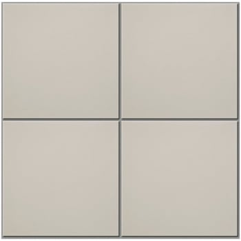 Ca'Pietra Cement Encaustic Plain Field Tile - Ivory