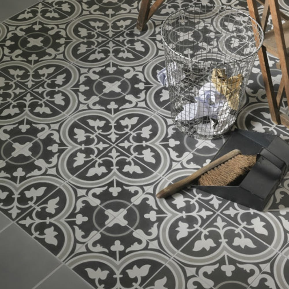 Ca Pietra Cement Encaustic Seville Pattern Tile Flooring