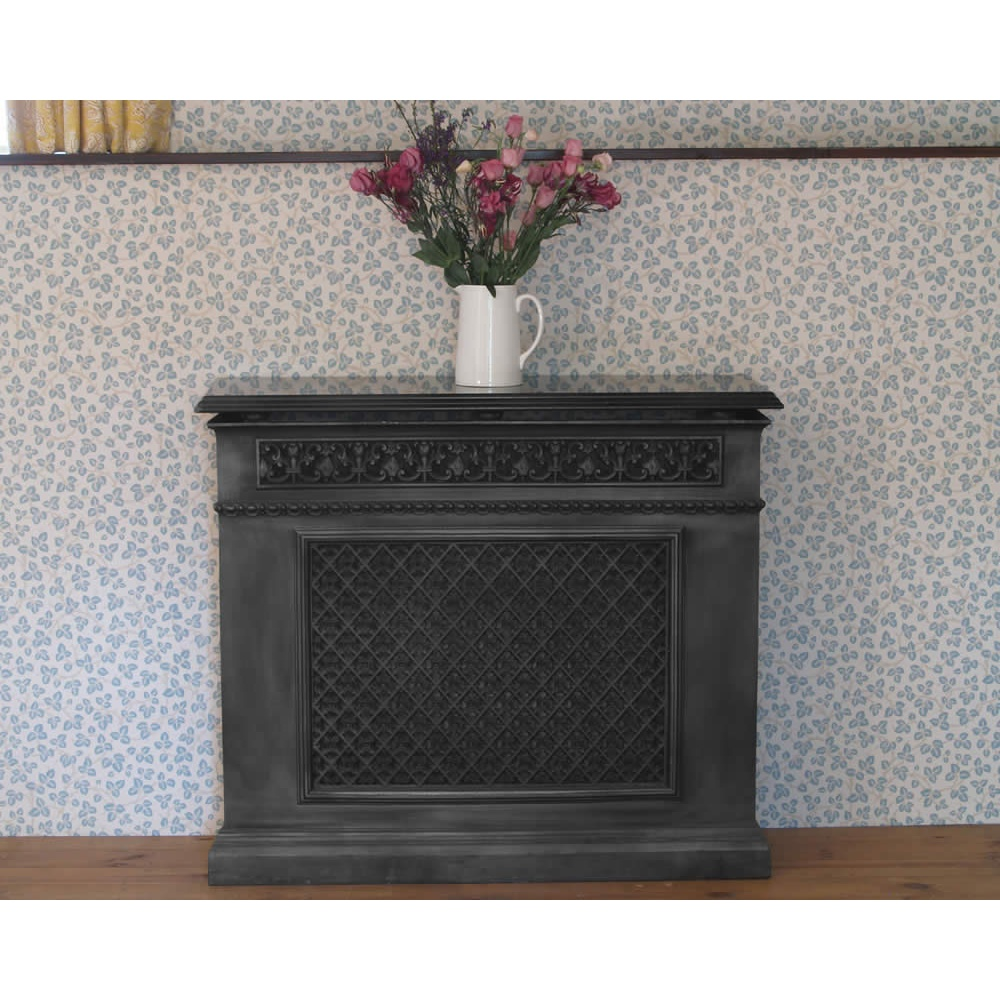 Carron cast iron radiator cover with optional granite top - Cast iron radiator covers ...