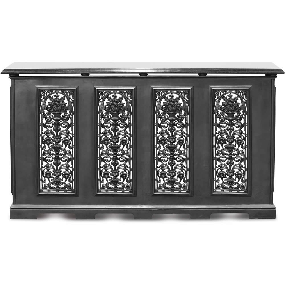 Carron cast iron radiator cover rx197 with optional - Cast iron radiator covers ...