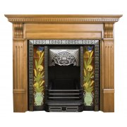 The Aladdin Cast Iron Fireplace Insert