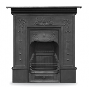 The Bella Cast Iron Combination Fireplace
