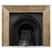 The Celtic Arch Cast Iron Fireplace Insert