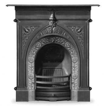 Carron The Knaresborough Cast Iron Combination Fireplace