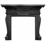 The Knightsbridge Cast Iron Fireplace Surround