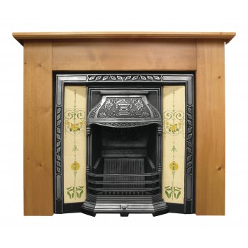 Carron The Laurel Cast Iron Fireplace Insert
