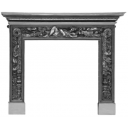 The Mayfair Cast Iron Fireplace Surround - Full Polish