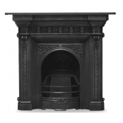 The Melrose Cast Iron Combination Fireplace