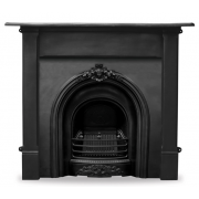 The Prince Cast Iron Fireplace Insert