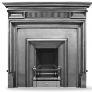 The Royal (Narrow) Cast Iron Fireplace Insert