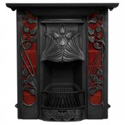The Toulouse Cast Iron Combination Fireplace