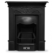 The Tulip Cast Iron Combination Fireplace