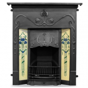 The Valentine Cast Iron Combination Fireplace
