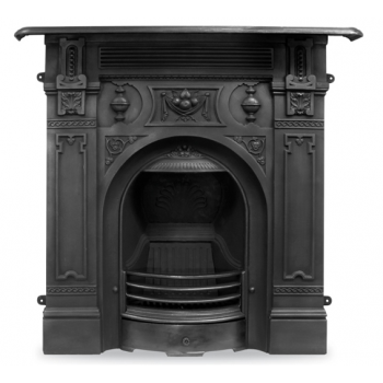 Carron The Victorian Large Cast Iron Combination Fireplace