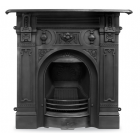 The Victorian Large Cast Iron Combination Fireplace
