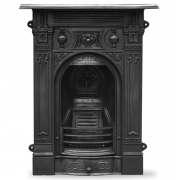 The Victorian Small Cast Iron Combination Fireplace