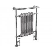 Wilsford Steel Towel Rail Chrome Finish