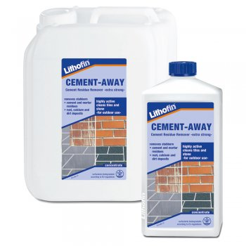 Lithofin Cement-Away Efflorescence & Mortar Residue Remover