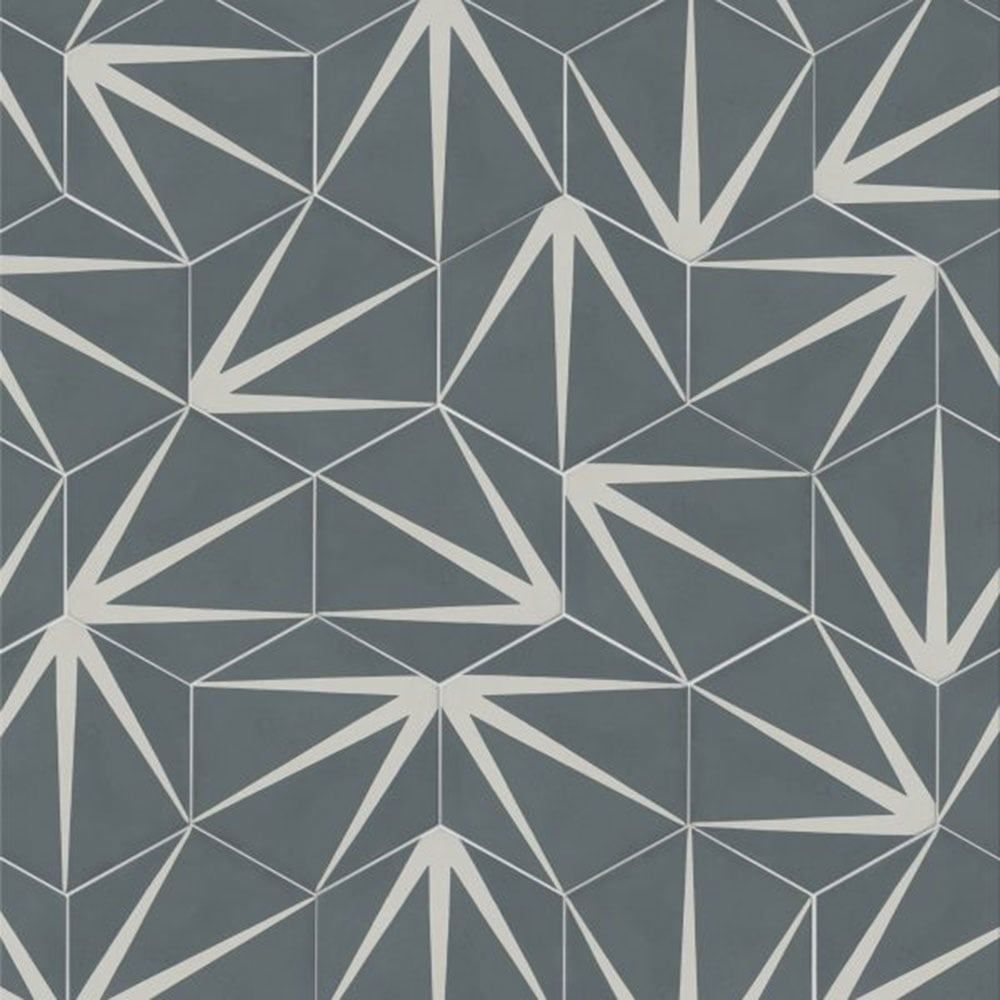 Capietra cement encaustic lily pad pattern tile flooring from capietra cement encaustic lily pad pattern tile flooring from period property store uk dailygadgetfo Gallery