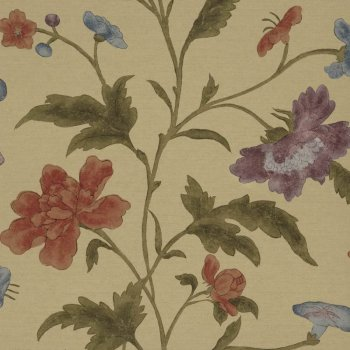 Little Greene China Rose - Bronze Wallpaper