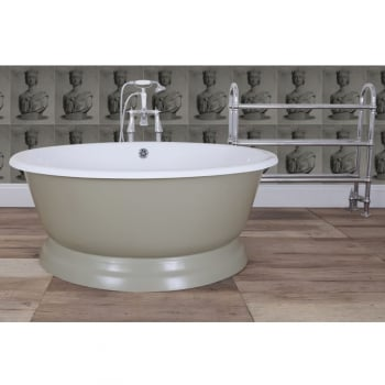 Jig Baths Collection Drum Cast Iron Bath
