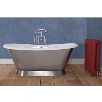 Jig Baths Collection Montreal Polished Double Ended Bath