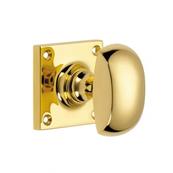Croft Half Round Mortice Door Knob Furniture