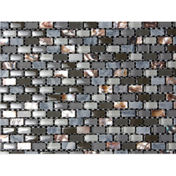Marshalls Tile & Stone Dahli Grey Brick Mosaic Tiles