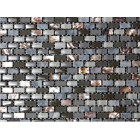 Dahli Grey Brick Mosaic Tiles