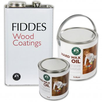 Fiddes Hardwax Oil - Clear Matt Finish