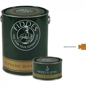Fiddes Supreme Forest Brown Wood Wax Polish/Restorer